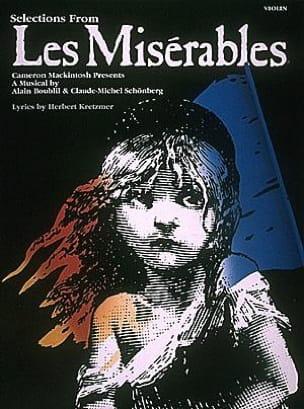 Alain Boublil & Claude-Michel Schönberg - Les Miserables - Partition - di-arezzo.fr