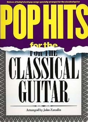 - Pop Hits For The Classical Guitar - Partition - di-arezzo.fr