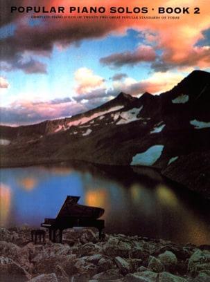 Popular Piano Solos Book 02 - Partition - Jazz - laflutedepan.com