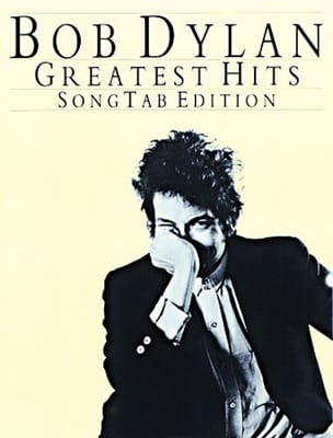 Greatest Hits Song Tab Edition Bob Dylan Partition laflutedepan