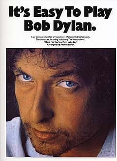 It's easy to play Bob Dylan - Bob Dylan - Partition - laflutedepan.com