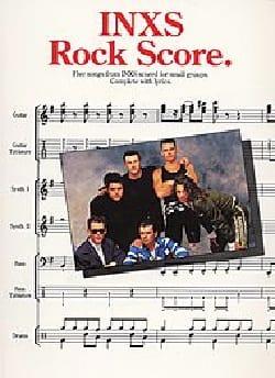 Inxs - Rock score - Sheet Music - di-arezzo.com