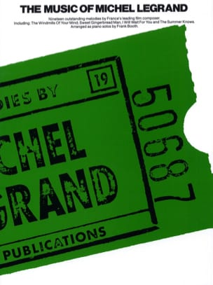 Michel Legrand - The Music Of Michel Legrand - Sheet Music - di-arezzo.com