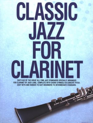 Classic Jazz For Clarinet Partition Clarinette - laflutedepan