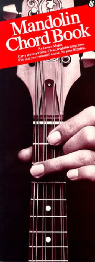 Mandolin Chord Book James Major Partition Mandoline - laflutedepan