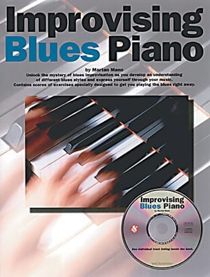Improvising Blues Piano - Martan Mann - Partition - laflutedepan.com