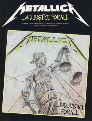And Justice For All Metallica Partition Pop / Rock - laflutedepan