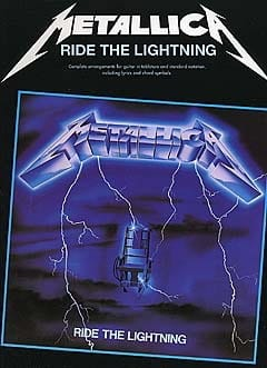 Ride The Lightning Metallica Partition Pop / Rock - laflutedepan