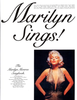 Marilyn Monroe - The Marilyn Monroe Songbook - Partition - di-arezzo.fr