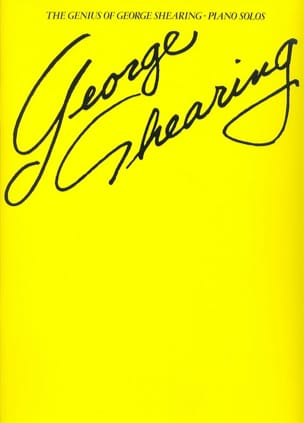 George Shearing - The Genius Of George Shering Piano Solos - Partition - di-arezzo.fr