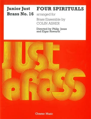 Four Spirituals - Junior Just Brass N° 16 Partition laflutedepan