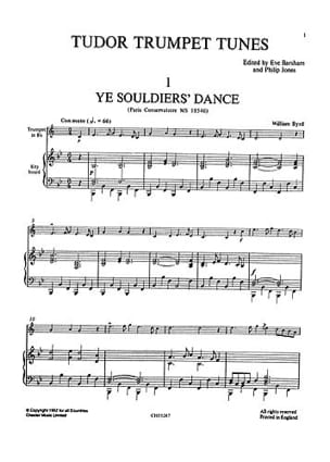 Trumpet Solos Volume 1 The Tudor Age - laflutedepan.com