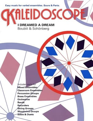 Boublil A. / Natel J.M. - I Dreamed A Dream - Kaleidoscope N° 39 - Partition - di-arezzo.fr