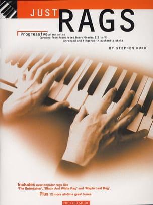 Just Rags - Partition - Jazz - laflutedepan.com