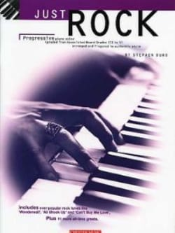 Just Rock - Stephen Duro - Partition - Pop / Rock - laflutedepan.com