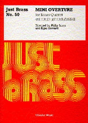 Witold Lutoslawski - Mini Overture - Just Brass # 50 - Sheet Music - di-arezzo.com