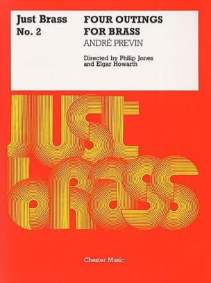 Four Outings For Brass - Just Brass N° 2 André Previn laflutedepan