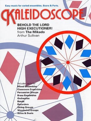 Behold The Lord High Executioner - Kaleidoscope N° 8 - laflutedepan.com