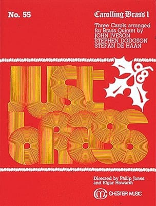 Carolling Brass 1 - Just Brass N° 55 - Traditionnel - laflutedepan.com