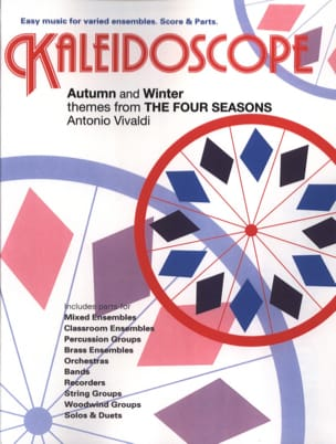 VIVALDI - Autumn & Winter, The Four Seasons - Kaleidoscope N° 26 - Partition - di-arezzo.fr