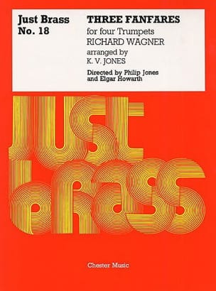 3 Fanfares - Just Brass N° 18 WAGNER Partition laflutedepan