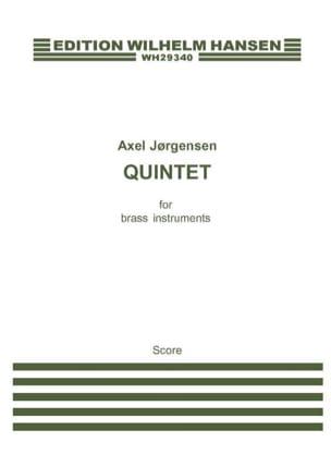 Borup Axel Jorgensen - Quintet For Brass Instruments - Conducteur - Partition - di-arezzo.fr
