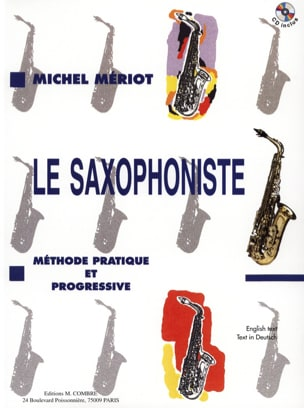 Michel Mériot - Le Saxophoniste - Partition - di-arezzo.fr