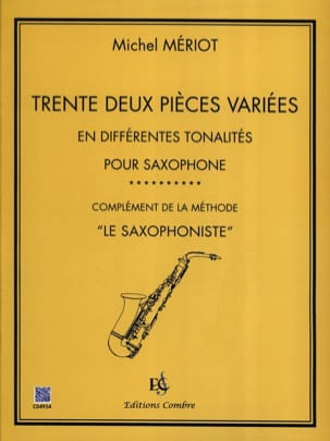 Michel Mériot - Thirty two different pieces - Sheet Music - di-arezzo.com