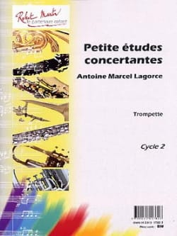 Antoine-Marcel Lagorce - Small Concertative Studies For Trumpet - Sheet Music - di-arezzo.com