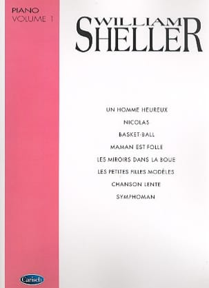 William Sheller - Album Volume 1 - Sheet Music - di-arezzo.co.uk