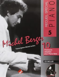 Michel Berger - Recueil Spécial Piano N° 5 - Sheet Music - di-arezzo.co.uk