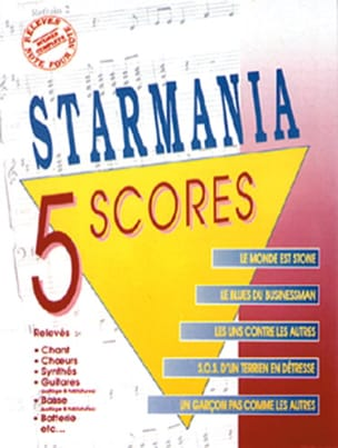 Berger Michel / Plamondon Luc - Starmania - 5 Scores - Sheet Music - di-arezzo.com