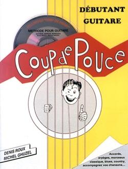 Méthode Coup de pouce débutant guitare acoustique volume 1 - Partition - di-arezzo.fr
