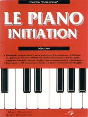 Le Piano Initiation - Marc Bercovitz - Partition - laflutedepan.com