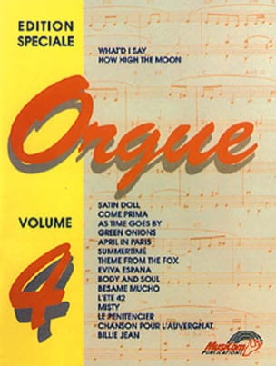 - Special Edition for Volume 4 Organ - Sheet Music - di-arezzo.com