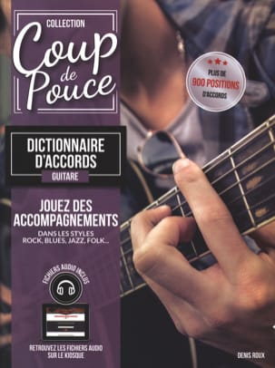 COUP DE POUCE - Guitar Chord Dictionary - Sheet Music - di-arezzo.com
