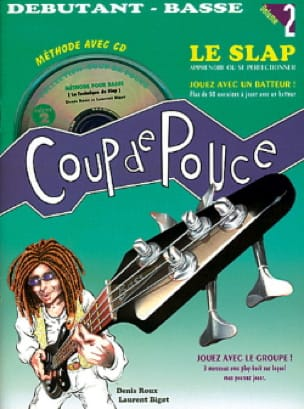 Méthode Guitare Basse Volume 2 - COUP DE POUCE - laflutedepan.com
