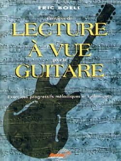 Lecture à vue guitare - Eric Boell - Partition - laflutedepan.com