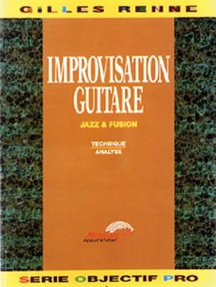Improvisation Guitare Jazz & Fusion Giles Rennes laflutedepan