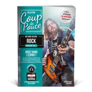 COUP DE POUCE - Rock Volume 2 Guitar Method - Partitura - di-arezzo.it