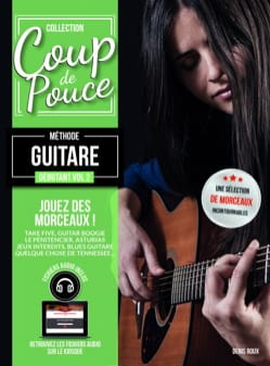 COUP DE POUCE - Beginner Guitar Method Volume 2 - Sheet Music - di-arezzo.com