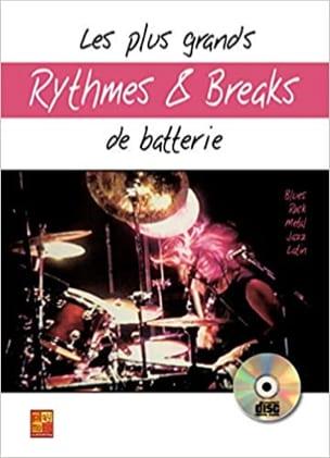 Sylvère Jobard - Les Plus Grands Rythmes Et Breaks de Batterie - Partition - di-arezzo.fr