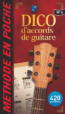 Dictionnaire d'Accords de Guitare Partition Guitare - laflutedepan