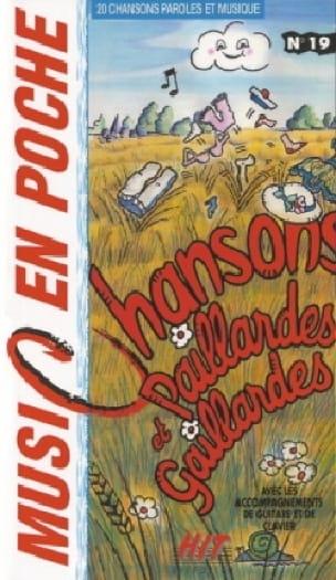 Music en poche N° 19 - Chansons paillardes et gaillardes - Partition - di-arezzo.fr