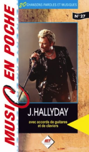 Johnny Hallyday - Music en poche N° 27 - Partition - di-arezzo.fr
