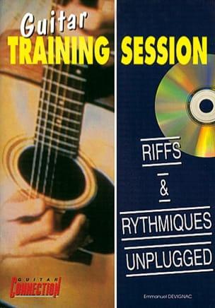 Emmanuel Devignac - Guitar Training Session Riffs & Rythmiques Unplugged - Partition - di-arezzo.fr