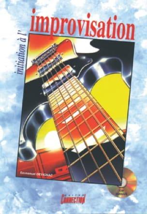 Initiation A L'improvisation - Emmanuel Devignac - laflutedepan.com