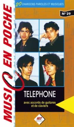 Music en poche N° 29 Téléphone Partition laflutedepan