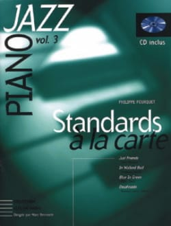 Philippe Fourquet - Standards A la Carte Volume 3 - 楽譜 - di-arezzo.jp