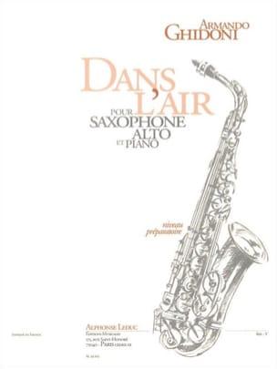 Armando Ghidoni - Dans l'air - Partition - di-arezzo.fr